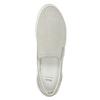 Slip-on zperforowanej skóry bata, szary, 533-2600 - 15
