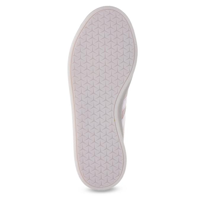 Różowe zamszowe trampki adidas, różowy, 503-5579 - 18