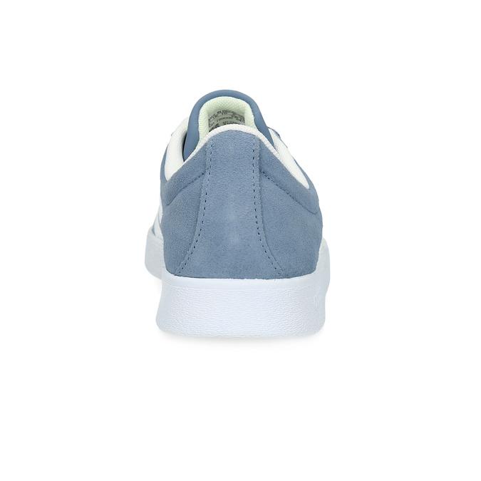 Błękitne zamszowe trampki adidas, niebieski, 503-2379 - 15