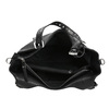 Czarna torba zodpinanym paskiem bata, czarny, 961-6835 - 15