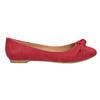 Czerwone baleriny zkokardami bata, czerwony, 529-5637 - 26
