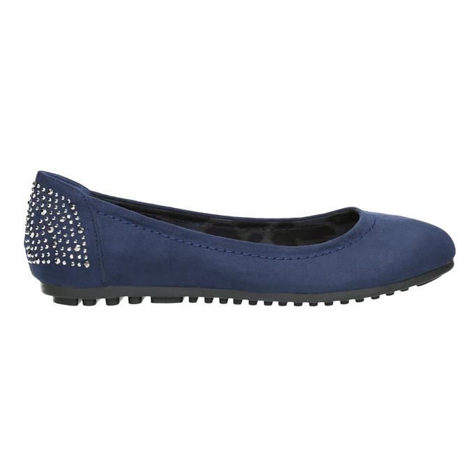 Niebieskie baleriny zkryształkami bata, 529-9639 - 26