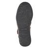 Skórzane sandały męskie comfit, brązowy, 856-4605 - 19