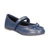 Niebieskie skórzane baleriny dziewczęce mini-b, niebieski, 326-9602 - 13