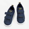 Granatowe trampki dziecięce na rzepy adidas, niebieski, 101-9129 - 16