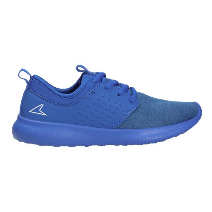 Niebieskie trampki dziecięce wsportowym stylu power, niebieski, 309-9202 - 26