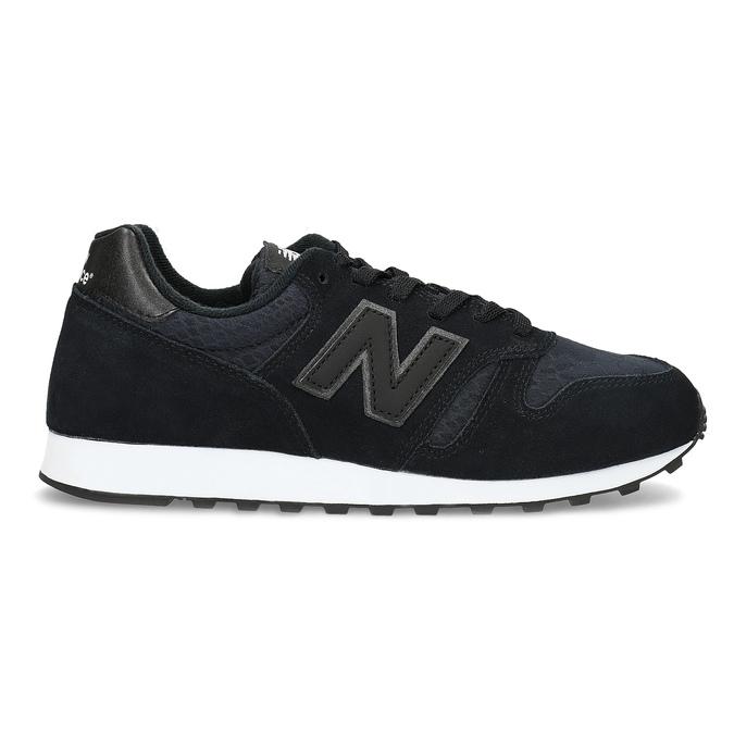 Czarne trampki damskie wsportowym stylu new-balance, czarny, 503-6874 - 19