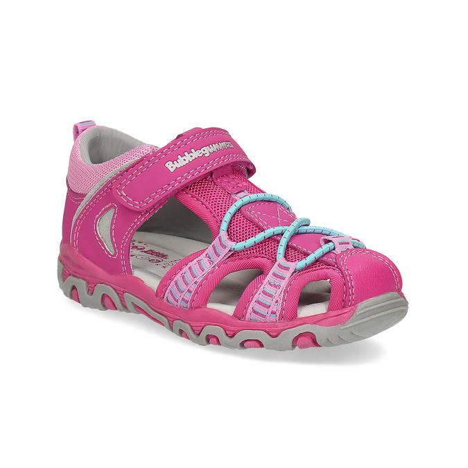 Różowe sandały dziecięce bubblegummer, 161-5609 - 13