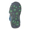 Błękitne skórzane sandały dziecięce bubblegummer, niebieski, 166-9602 - 17