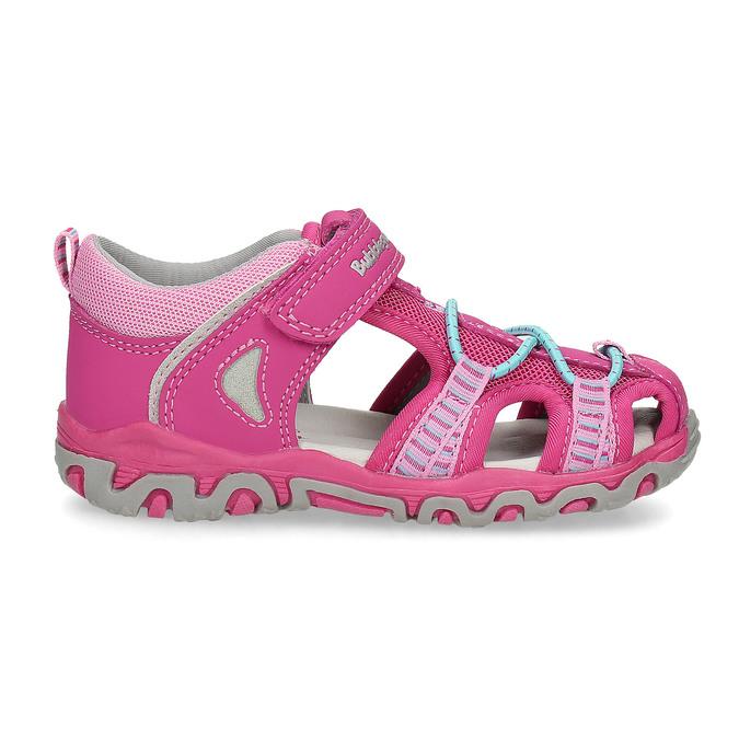 Różowe sandały dziecięce bubblegummer, 161-5609 - 19
