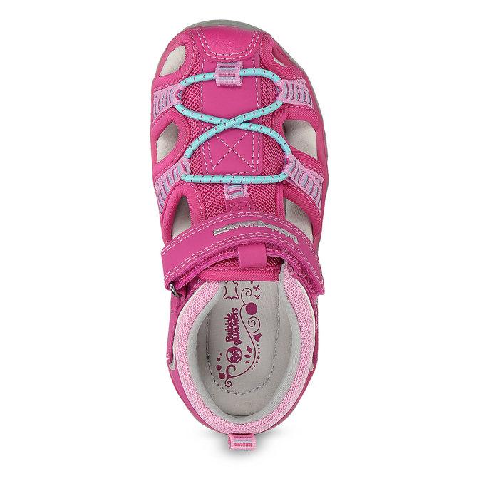 Różowe sandały dziecięce bubblegummer, 161-5609 - 17