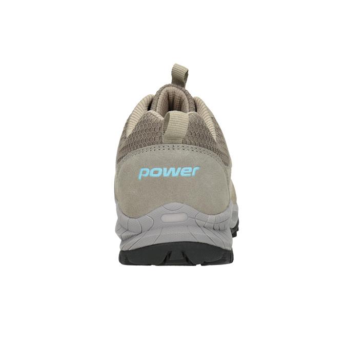 Skórzane obuwie wstylu outdoor power, beżowy, 503-3848 - 16