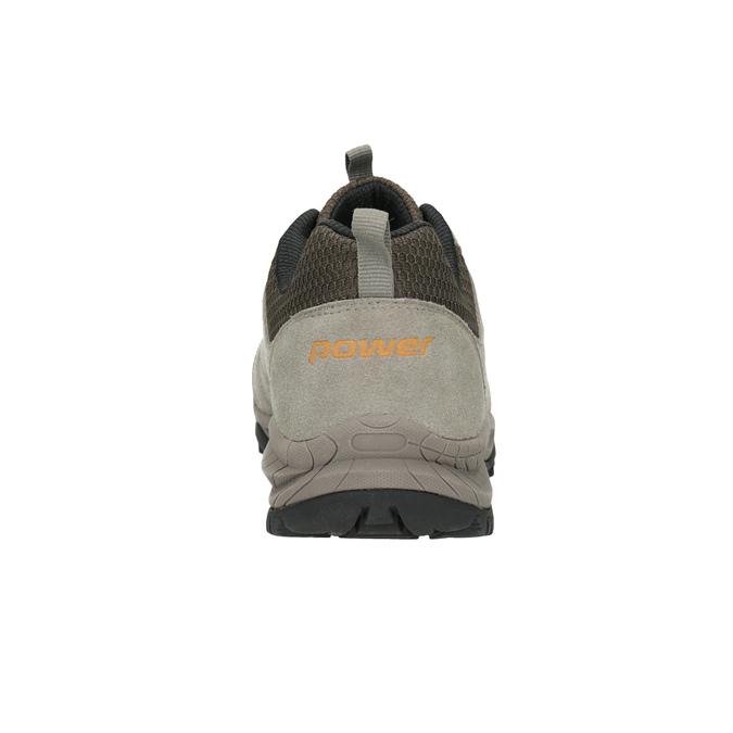 Skórzane obuwie wstylu outdoor power, brązowy, 803-3848 - 16