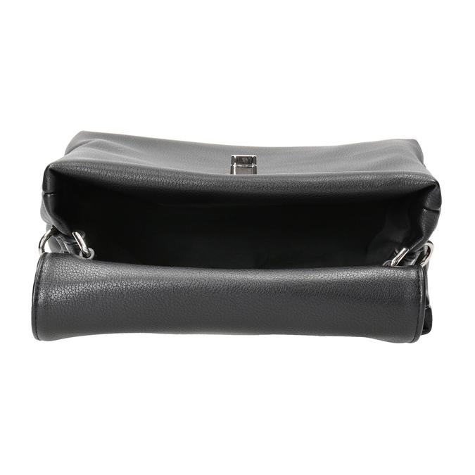 Czarna torebka damska bata, czarny, 961-6839 - 15