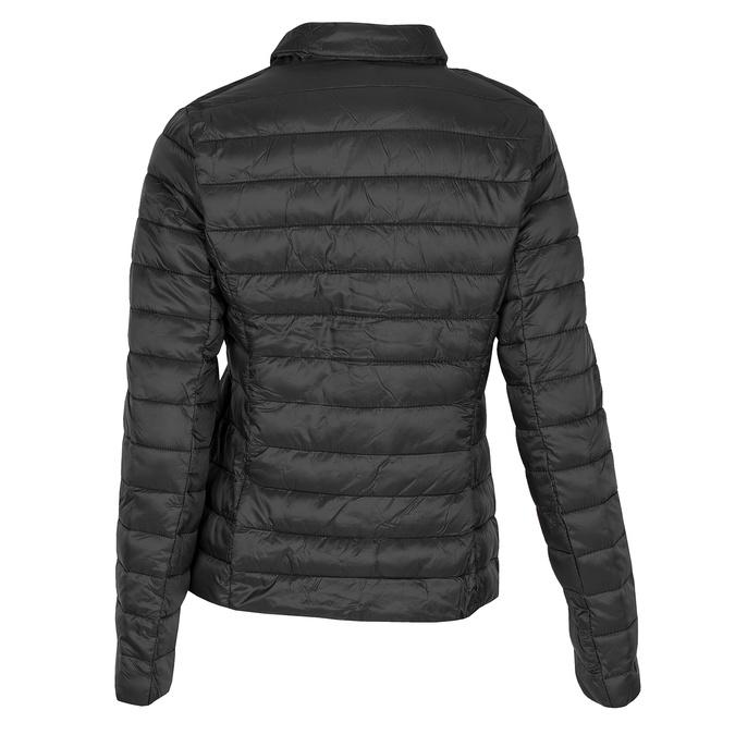 Czarna kurtka damska zkołnierzykiem bata, czarny, 979-6182 - 26