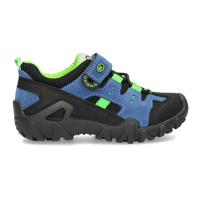 Slip-on dziecięce wstylu outdoor mini-b, niebieski, 413-9605 - 19