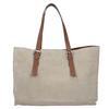 Beżowo-brązowa skórzana torebka bata, beżowy, 963-8194 - 16