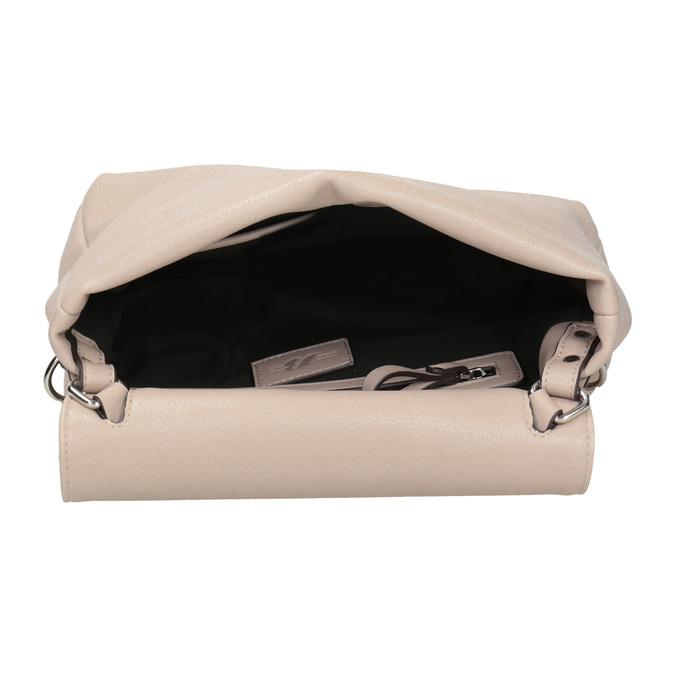 Torebka damska zpaskiem bata, szary, 961-2839 - 15