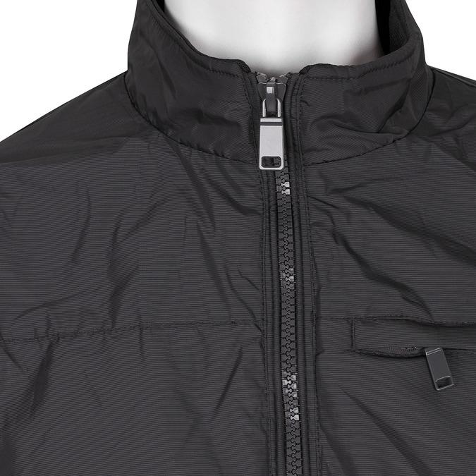 Czarna kurtka męska zmateriału tekstylnego bata, czarny, niebieski, 979-9119 - 16