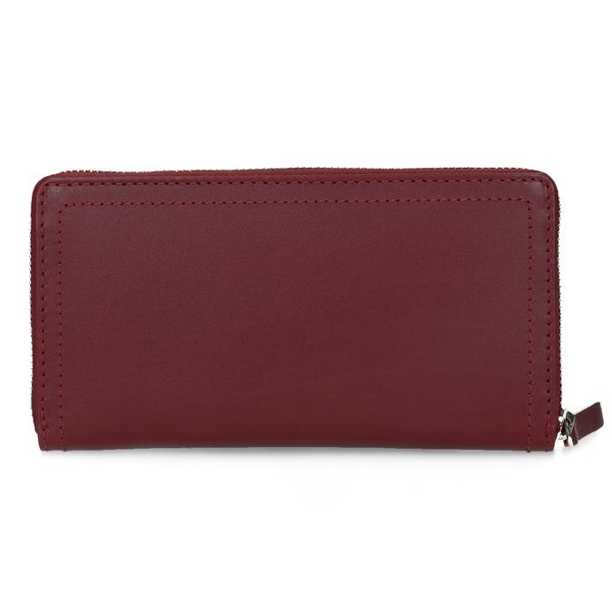 Czerwony skórzany portfel damski gabor-bags, czerwony, 946-5003 - 16