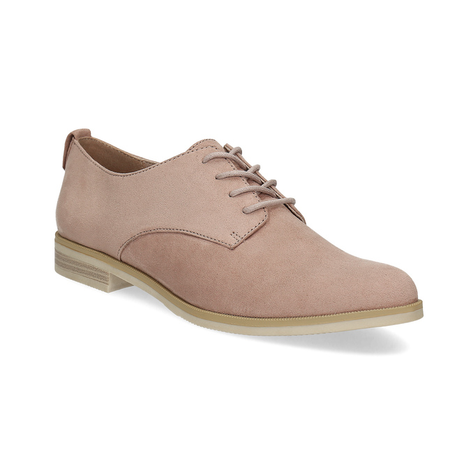 Nieformalne półbuty damskie bata, różowy, 529-5636 - 13
