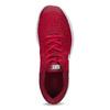 Czerwone trampki dziecięce zbiałą podeszwą nike, czerwony, 409-5502 - 17