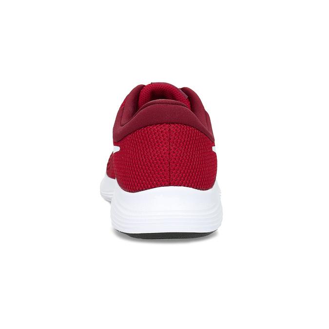 Czerwone trampki dziecięce zbiałą podeszwą nike, czerwony, 409-5502 - 15
