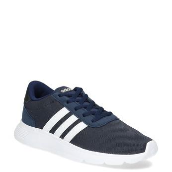 Granatowe trampki chłopięce wsportowym stylu adidas, niebieski, 409-9388 - 13