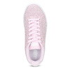 Różowe skórzane trampki damskie adidas, różowy, 503-5478 - 17
