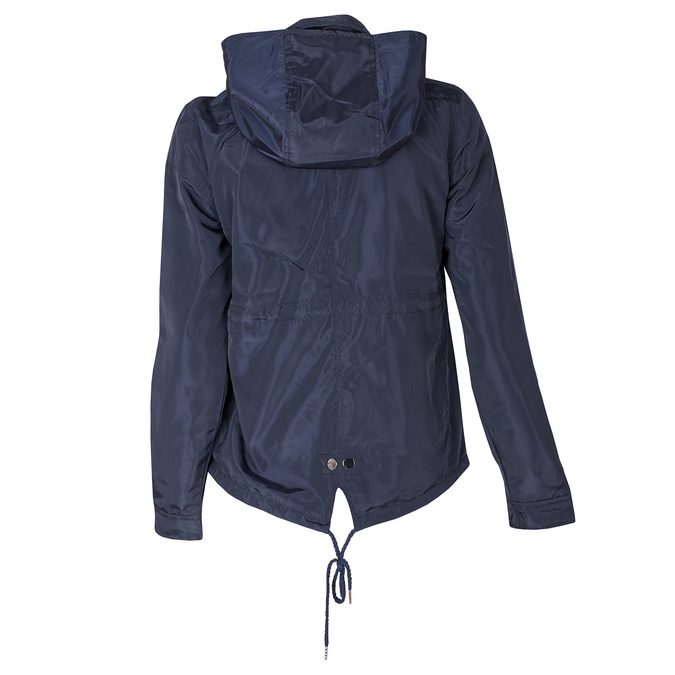 Granatowa kurtka damska zkapturem bata, niebieski, 979-9109 - 26