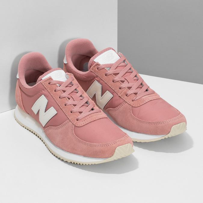 Różowe trampki damskie new-balance, różowy, 509-5871 - 26