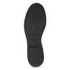 Czarne skórzane mokasyny męskie bata, czarny, 814-6177 - 18