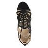 Sandały na szpilkach bata, czarny, 729-6615 - 15