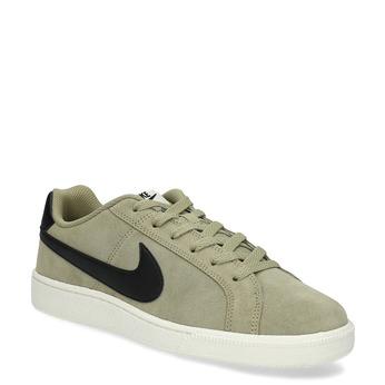 Zamszowe trampki męskie Nike nike, khaki, 803-7699 - 13