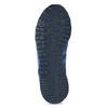 Niebieskie skórzane trampki Adidas adidas, niebieski, 803-9293 - 18
