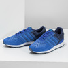 Niebieskie skórzane trampki Adidas adidas, niebieski, 803-9293 - 16