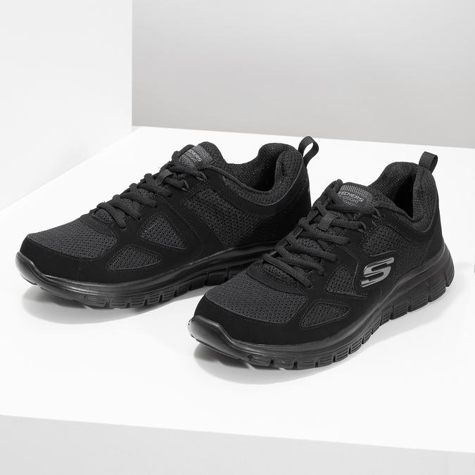 8096805 skechers, czarny, 809-6805 - 16