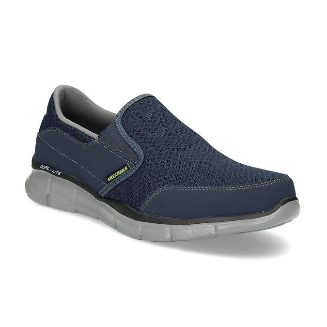 Slip-on wsportowym stylu skechers, niebieski, 809-9147 - 13