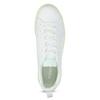 Białe trampki damskie zzieloną podeszwą adidas, biały, 501-1733 - 17