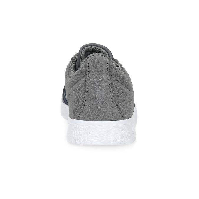 Szare zamszowe trampki męskie adidas, szary, 803-2379 - 15