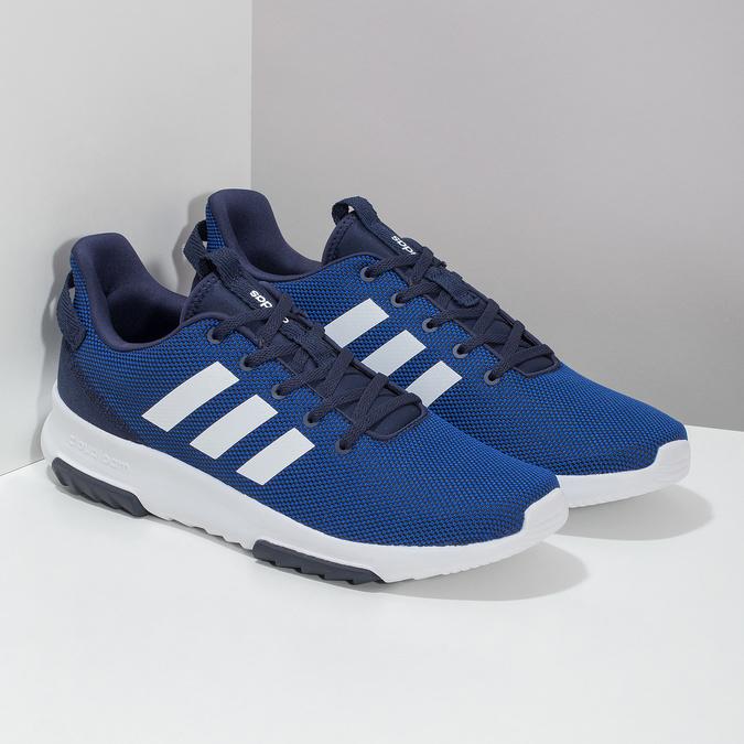 Niebieskie trampki męskie adidas, niebieski, 809-9601 - 26