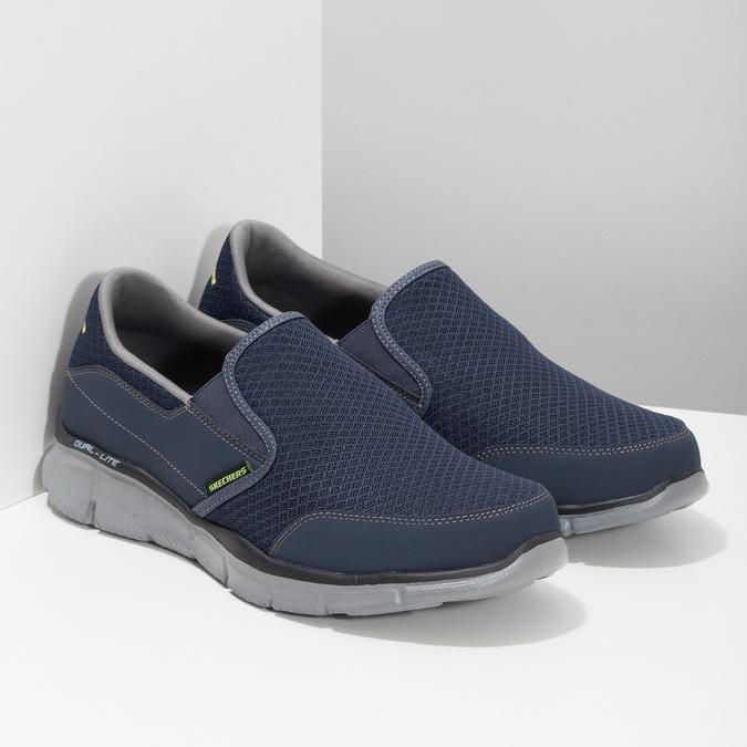 Slip-on wsportowym stylu skechers, niebieski, 809-9147 - 26