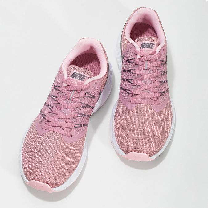 Różowo-szare trampki damskie nike, różowy, 509-5854 - 16