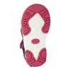 Sandały dziewczęce na rzepy bubblegummer, różowy, 161-5604 - 19