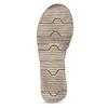 Szaro-czarne skórzane sandały damskie weinbrenner, czarny, 566-6641 - 18