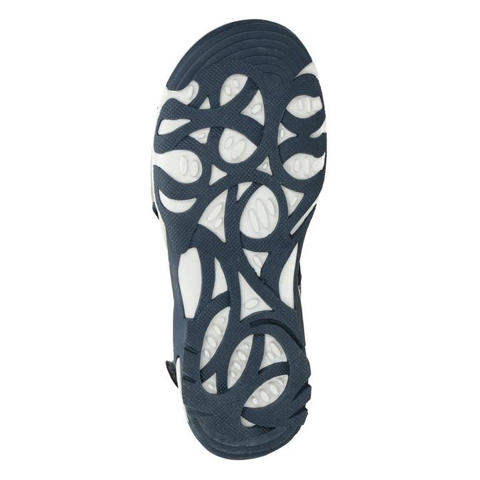 Szare sandały chłopięce wsportowym stylu mini-b, szary, 461-2607 - 19