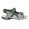 Szare sandały chłopięce wsportowym stylu mini-b, szary, 461-2607 - 16