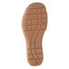 Białe skórzane sandały na rzepy gabor, biały, 666-1018 - 17