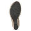 Beżowe sandały zkwiatkiem comfit, beżowy, 661-8613 - 18