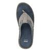 Skórzane japonki męskie zprzeszyciami bata, szary, 866-9845 - 17